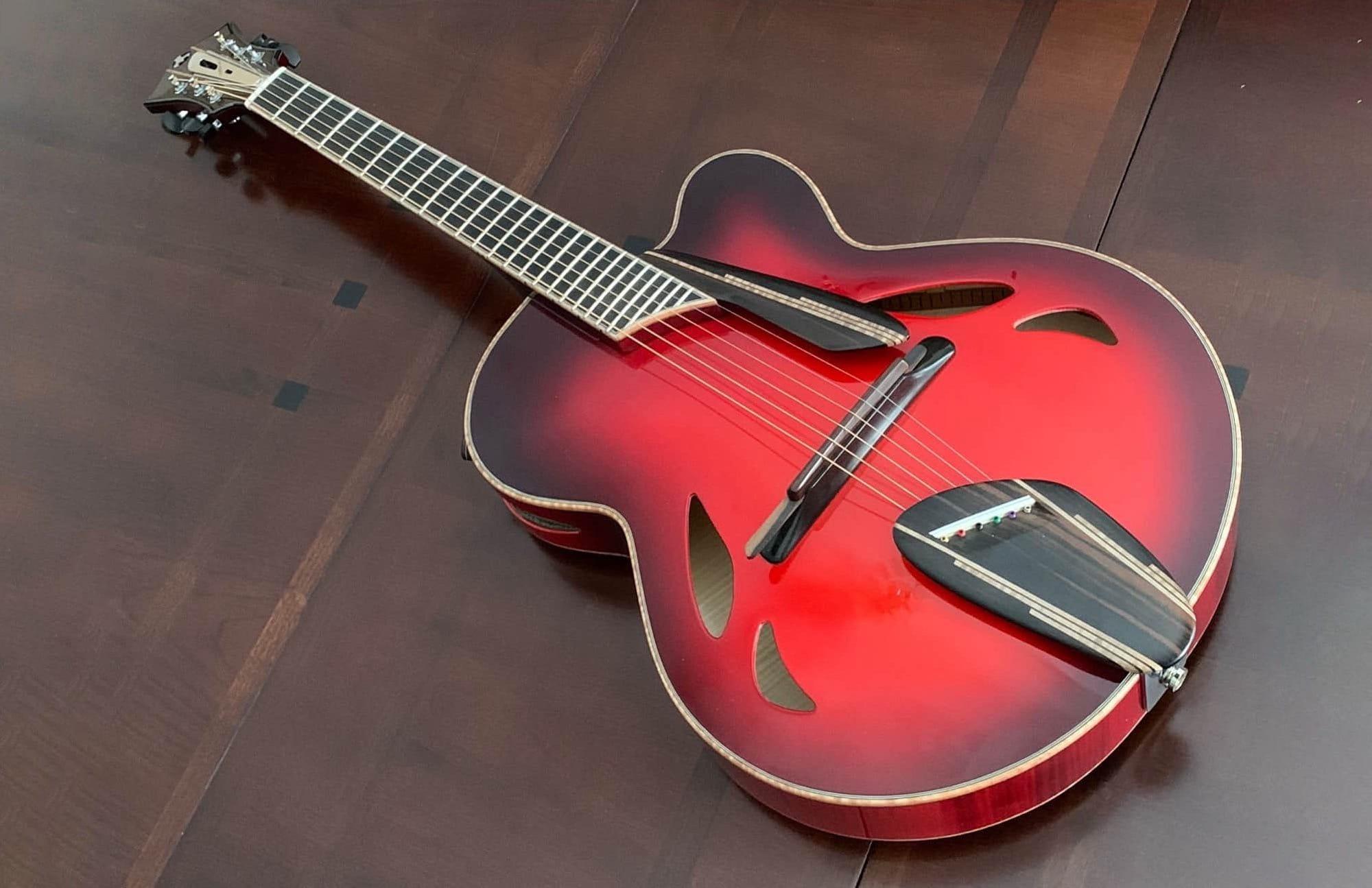 Mirabella guitars Crossfire New Yorker Custom