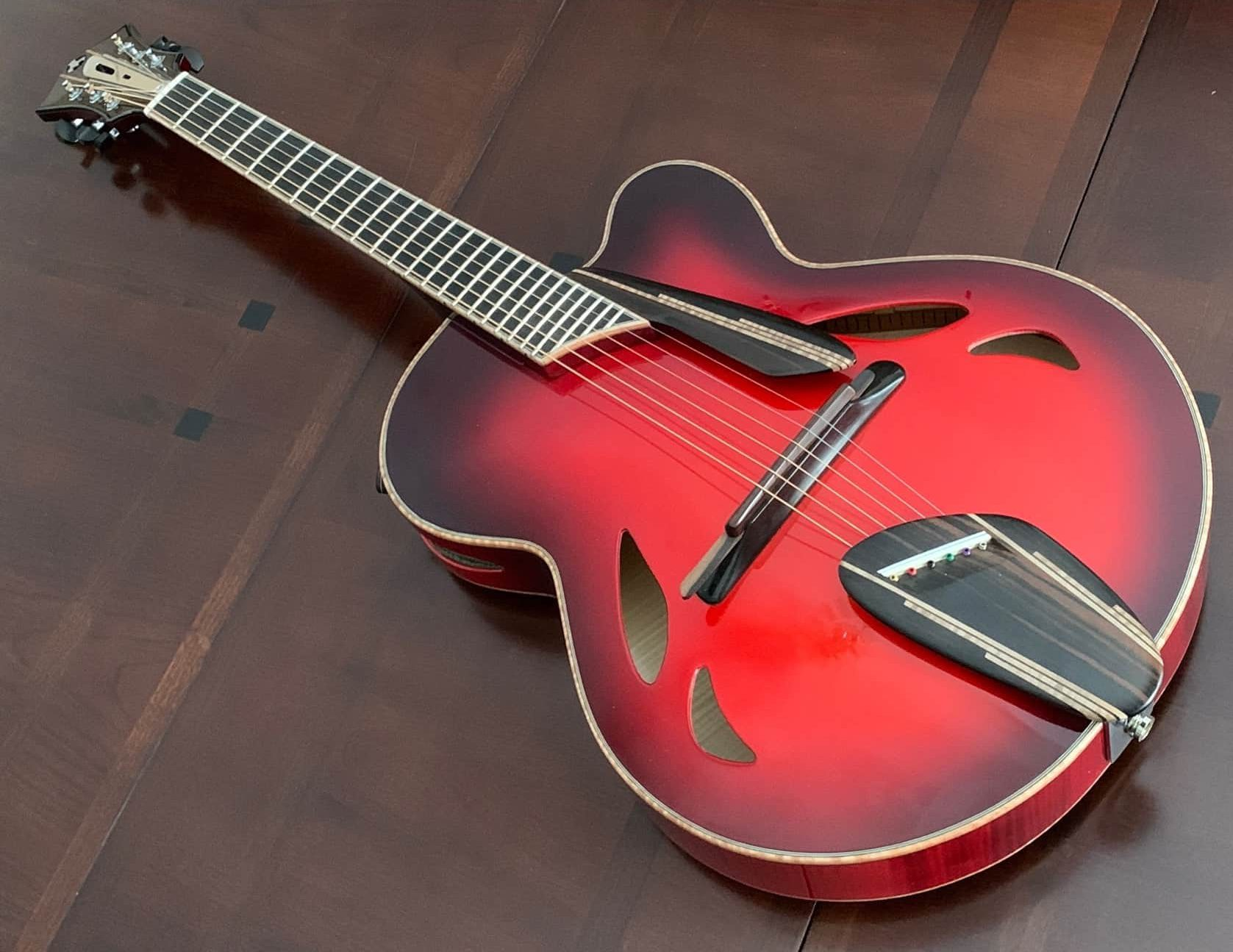 Mirbella Red Crossfire Guitar