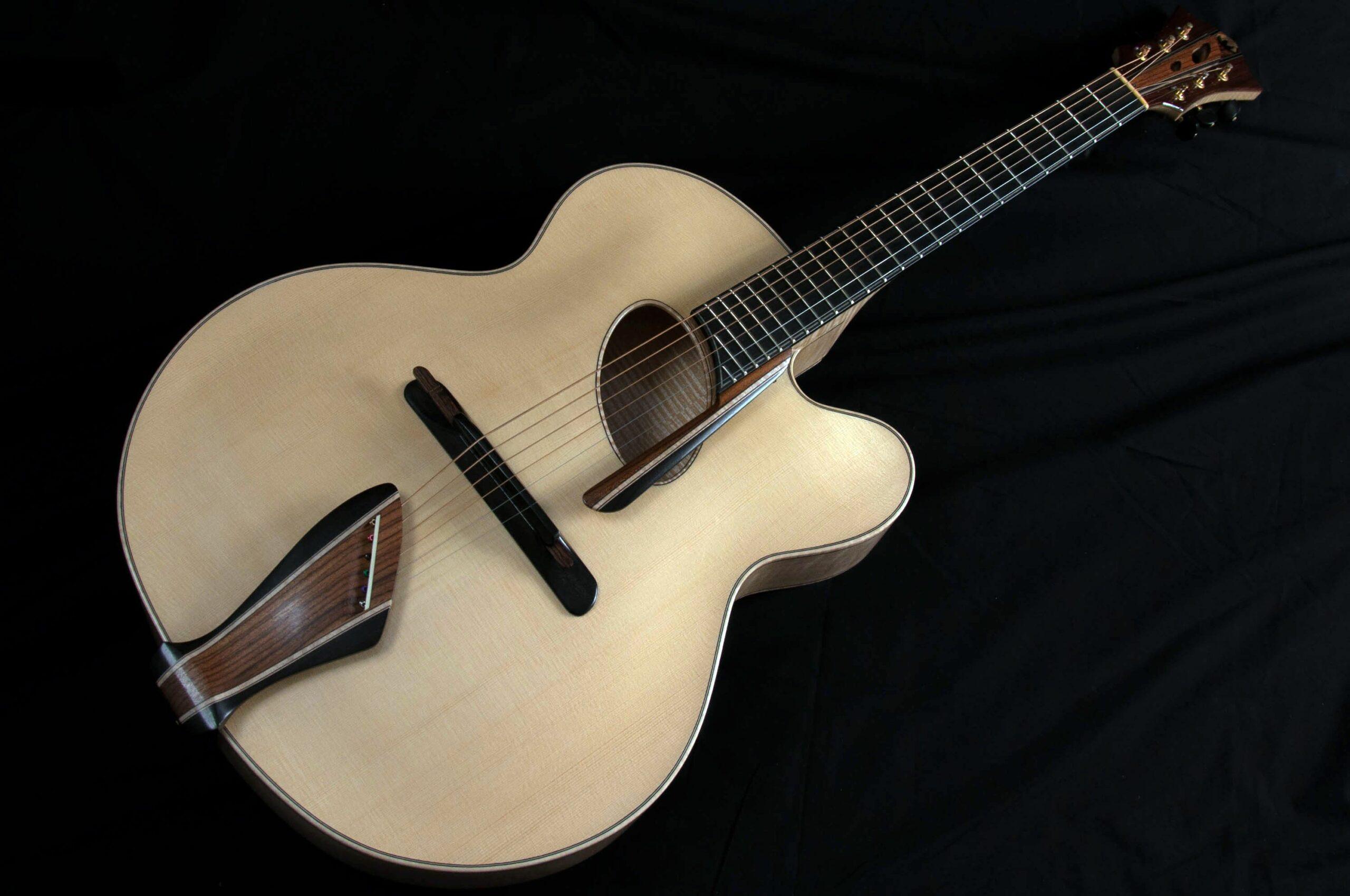 mirabella oval hole guitar
