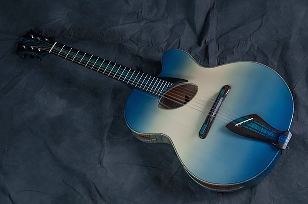mirabella guitars whale watching oval hole